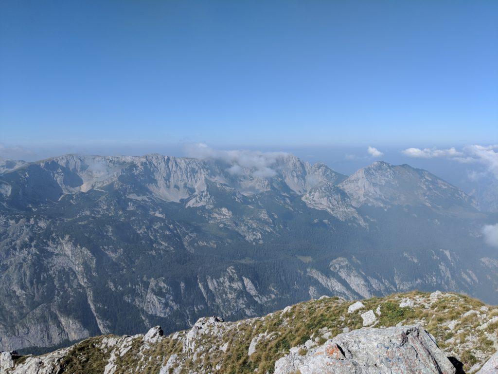 Maglic Gipfel auf dem Via Dinarica